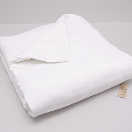 Duvet Cover With Mach Hemstitch And Buttons