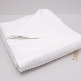 Duvet Cover With Mach Hemstitch And Loops