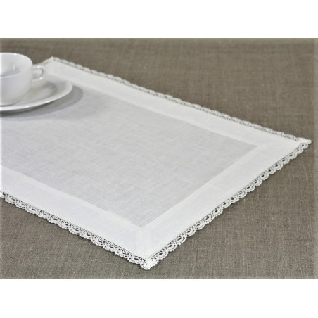 """""""Agne"""" Placemat with 4,5cm borders"""