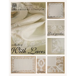 """""""Rose garden"""" Tablecloth round"""