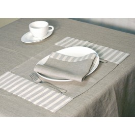 """""""Smilga"""" Placemat with two 10cm borders"""