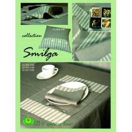 """""""Smilga"""" Tablecloth with two 12cm borders"""