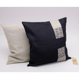 """""""Patchwork"""" Pillow Cover with Zip"""
