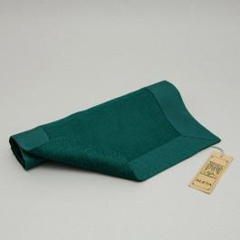 Placemat Herringbone green
