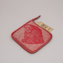 Pot Holder Old person red