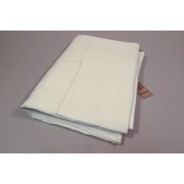 Tablecloth with 17cm border and machine hemstitch