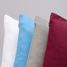 Pillow Cover with Zip wrong side