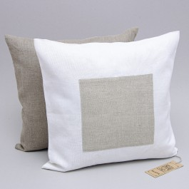 """Pillow Cover """"Square"""" in two colors"""