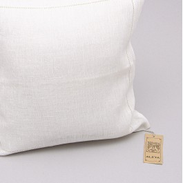 Pillow Cover With Machine Hemstitch