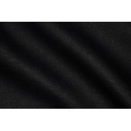 LINEN 185G/M² BLACK 150CM WIDTH (OBR491CV147)