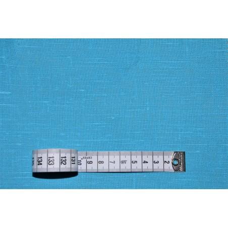 LINEN 185G/M² TURQUOISE BLUE 150CM WIDTH (OBR491CV1421)