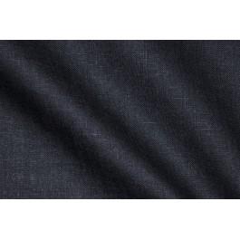 LINEN 185G/M² BLUE CHARCOAL 150CM WIDTH