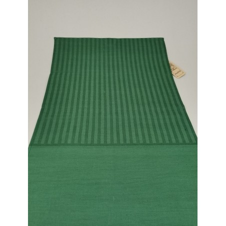 Vertical green stripes with plain green